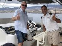 2019 10 22 Ausflug Walbeobachtung Kapitän der Freebird One