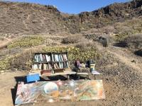 2019 10 22 Wanderung nach Playa Paraiso Aussteigerbücherei