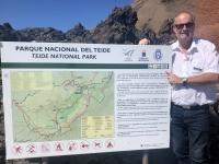 2019 10 23 Ausflug Teide Unescotafel