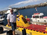 2019 10 24 U_Boot Fahrt ab Hafen von San Miguel