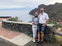 2019 10 25 Ausflug nach La Gomera RLin Gisela oberhalb Humigua