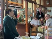 2019 10 25 Ausflug nach La Gomera Vorführung der Pfeiffsprache