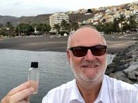 2019 10 25 Ausflug nach La Gomera Wasserentnahme im Hafen