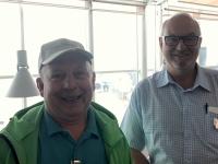 2019 10 26 Flughafen Teneriffa mit Werner