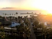 Sonnenuntergang vom Hotel RIU Palace