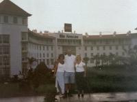 0 2001 10 05 Unser Hotel RIU Arecas von Norden