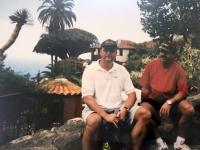 4 2001 10 11 Teneriffa Drachenbaum im Ort Icod de los Vinos