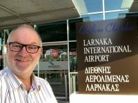 2019 11 07 Ankunft am Flughafen Larnaka