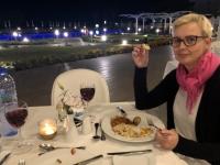 2019 11 07 Paphos Hotel Louis Iviv Mare Abendessen auf Terrasse