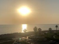 2019 11 08 Meerblick mit Sonne vom Hotelbalkon