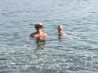2019 11 10 Felsen der Aphrodite super Wassertemperatur