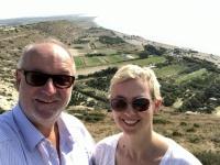 2019 11 10 Kourion mit Blick von der Steilküste