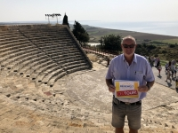 2019 11 10 Kourion röm Theater Reisewelt on Tour