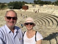 2019 11 10 Kourion röm Theater schön erhalten
