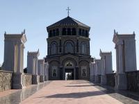 2019 11 11 Berg Throni Aufgang zum Denkmal Erzbischof Makarios