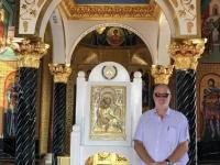 2019 11 11 Berg Throni Denkmal Erzbischof Makarios innen