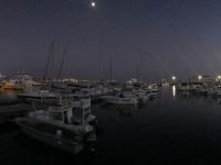 2019 11 08 Paphos Hafen am Abend
