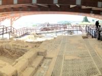 2019 11 10 Kourion Ausgrabungen mit Hallendach