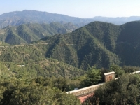 2019 11 11 Berg Throni Blick auf Troodosgebirge