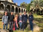 2019 11 28 Berg der Seligpreisung Reiseleiterteam in dieser Woche
