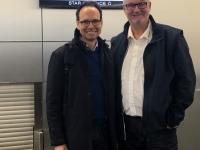 2019 11 24 Flughafen Wien neuer ORF OÖ Friedenslichtchef Günther Madlberger