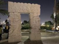 2019 11 24 Jaffa Standbild des Glaubens