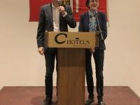 2019 11 25 Empfang des ORF OÖ im Hotel durch Günther Madlberger