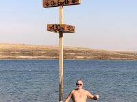 2019 11 25 Kalia Beach am Toten Meer tiefster Punkt der Welt