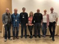 2019 11 25 Reiseleiterteam mit Gast Raanan