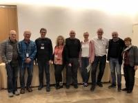 2019 11 25 Reiseleiterteam mit Gast Raanan und Kameramann Valid und Daniela Epstein