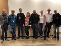 2019 11 25 Reiseleiterteam mit Gast Raanan und Kameramann Valid