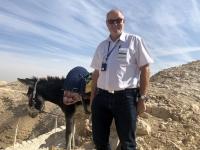 2019 11 25 Wadi Kelt mit Freund