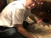 2019 11 26 Bethlehem Geburtsgrotte in der Geburtsbasilika