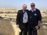 2019 11 26 Jerusalem Ölberg mit Pfarrer Mag Öhler