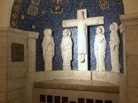 2019 11 26 Jerusalem Dormitio Abtei österr Altar im Keller