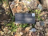 2019 11 27 Yad Vashem Gedenkstein für Oskar Schindler
