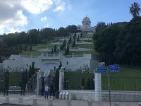 2019 11 28 Haifa Haifa Gärten von unten