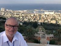 2019 11 28 Haifa mit Blick auf die Bahai Gärten