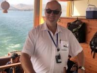 2019 11 29 Bootsfahrt am See Genezareth Kapitän Stutz
