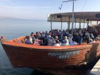 2019 11 29 Bootsfahrt am See Genezareth ab Ginosar