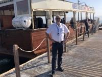 2019 11 29 Bootsfahrt am See Genezareth am dem Kibutz Ginosar