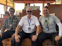 2019 11 29 Bootsfahrt am See Genezareth mit beiden RL