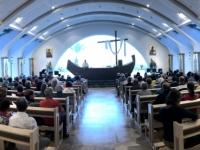 2019 11 27 Magdala Messe in der Kirche Ducin Altum