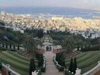 2019 11 28 Haifa Blick auf die Bahai Gärten