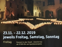 Plakat für Rattenberger Advent