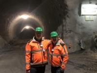 Begonnener Haupttunnel Ost Richtung Süd