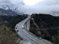Europabrücke von oben