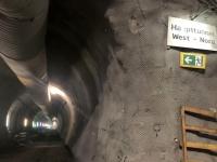 Fotostopp beim Haupttunnel West Richtung Nord