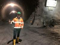Im Haupttunnel Ost Richtung Süd wird derzeit nicht gearbeitet