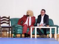 Thomas Gottschalk mit Bürgermeister Herbert Ollinger
